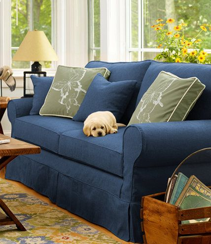 Washable Furniture Slipcovers: Slipcovers | Free Shipping at L.L.Bean