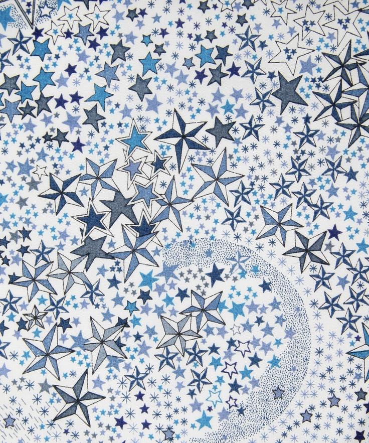 Adelajda D Tana Lawn, Liberty Art Fabricspour les créations sur mesure Milie Dots: couverture bebe, tour de lit, boutis, gigoteuse, édredon en laine, tapis d'éveil et tapis de chambre, etc