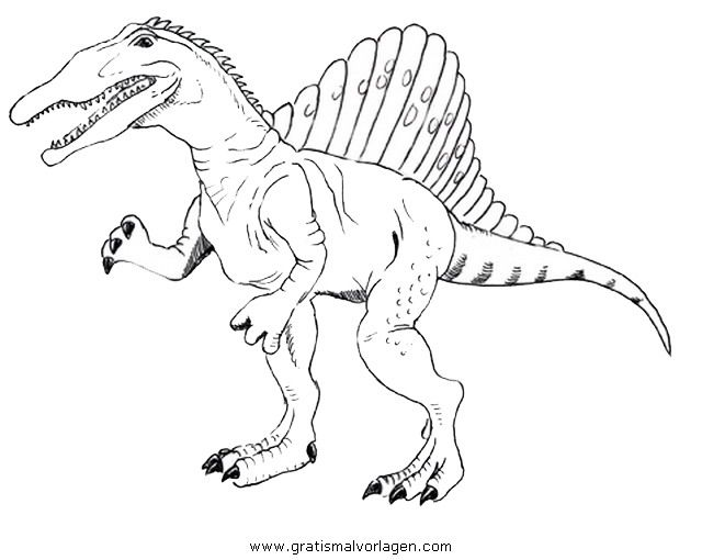 Spinosaurus Ausmalbilder Ausmalbilder Spinosaurus Dinosaur