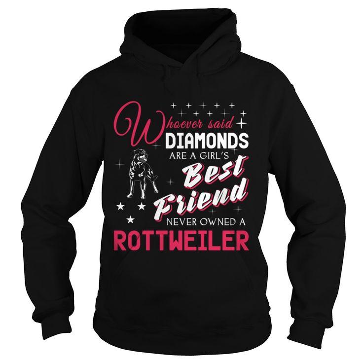 Best Friend Rottweiler Rottie Dog Men Women Pets Dogs Hoodie