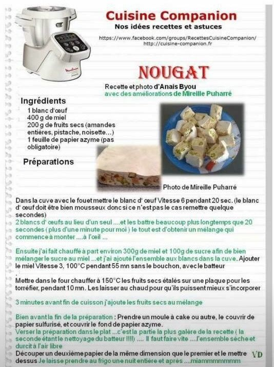 25 best ideas about nougat thermomix on pinterest recette nougat thermomix recette du nougat. Black Bedroom Furniture Sets. Home Design Ideas