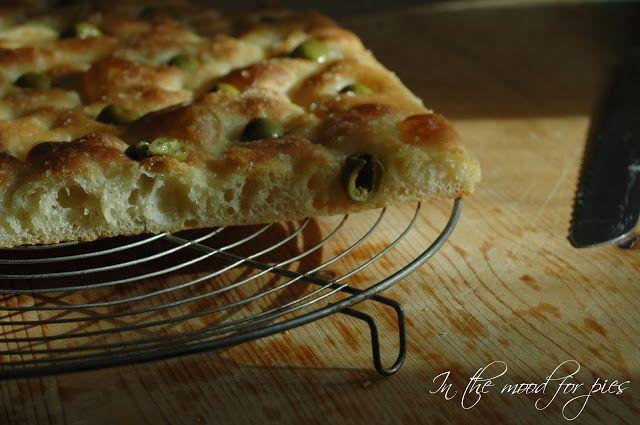 In the mood for.....: Focaccia morbida con pasta madre