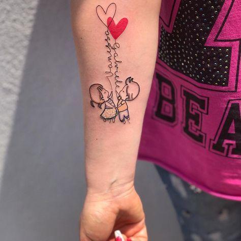Tatuagem de família: 90 opções para registrar todo o seu amor