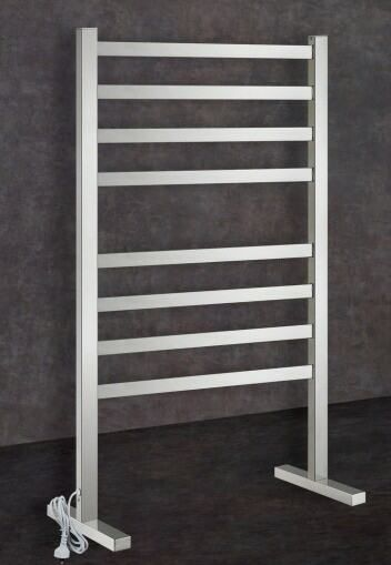 Thermorail Freestanding Straigh/Square heated towel rail. 8 Bars Output W 119. Order one now at $319.00. FREE Shipping Australia.