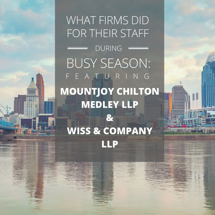 See what Mountjoy Chilton Medley and Wiss & Company did to