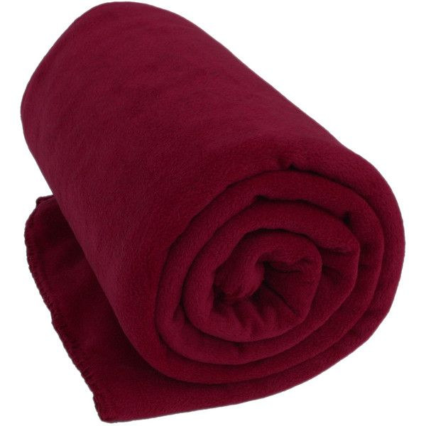 Burgundy Deluxe Microfiber Fleece Throw Blanket Monogramming Available ($35) ❤ liked on Polyvore featuring home, bed & bath, bedding, blankets, burgundy bedding, fleece blanket throw, micro fiber blanket, maroon throw blanket and microfiber bedding