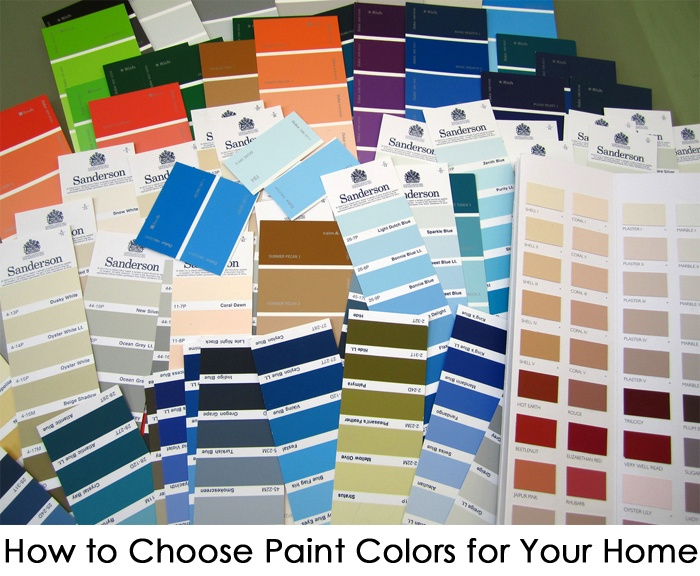 how to choose paint colors for your home