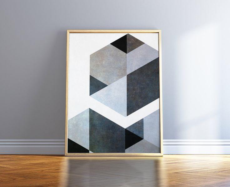 Black And White Art Nordic Print Gray Minimalist Poster Geometric Scandinavian Print Black And White Poster Black And White Abstract Art by WordKitty on Etsy https://www.etsy.com/listing/492569061/black-and-white-art-nordic-print-gray