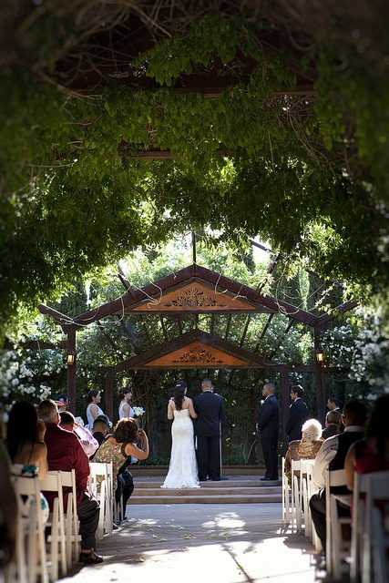 Exceptional A Wedding In The Ceremonial Rose Garden By Albuquerque BioPark, Via Flickr