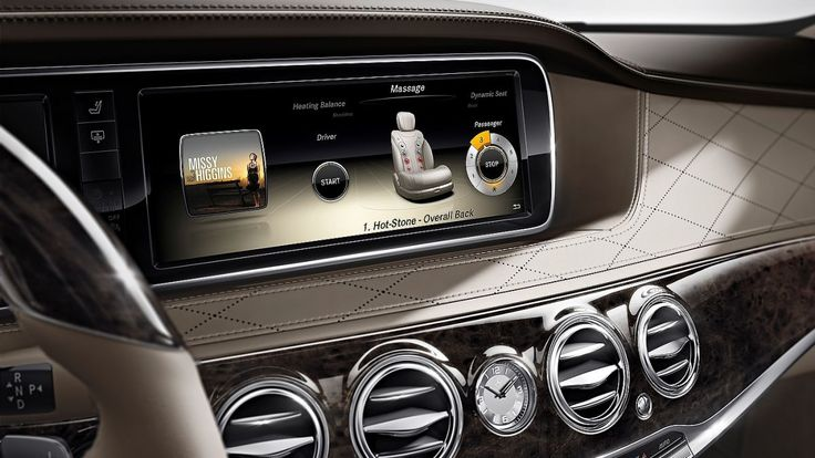 Huge LCD screens and Intel Atom power for new Mercedes S Class | Outrageously techy interior of new Mercedes is dominated by foot-wide LCD screens, Google-enhanced sat nav, a digital perfume system and more. Buying advice from the leading technology site