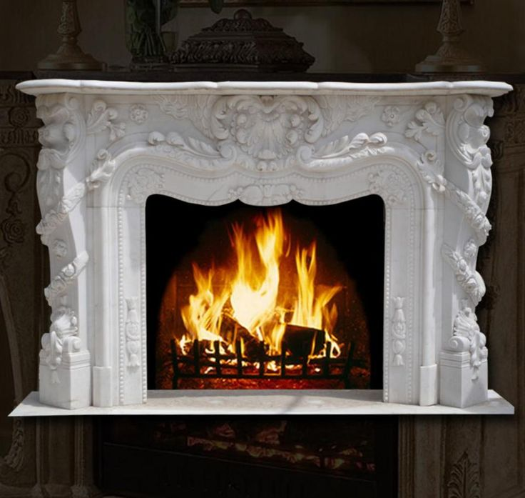 how does an amish fireless fireplace work