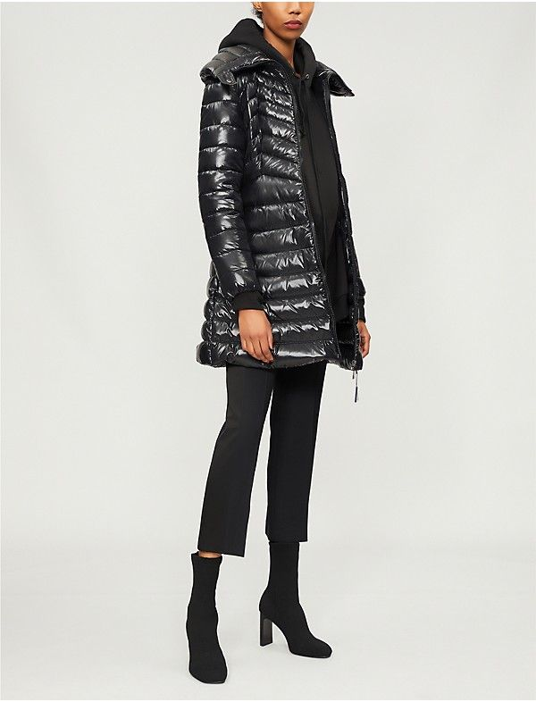 MONCLER - Faucon quilted shell and down-blend coat   Selfridges.com ... 45fde667e9