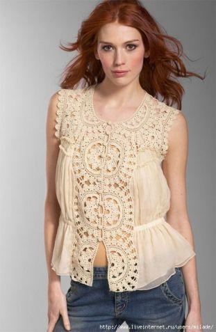 Crochet Garment, Crochet