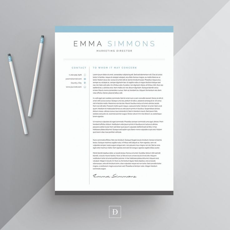 Word Resume u0026 Cover Letter Template 28