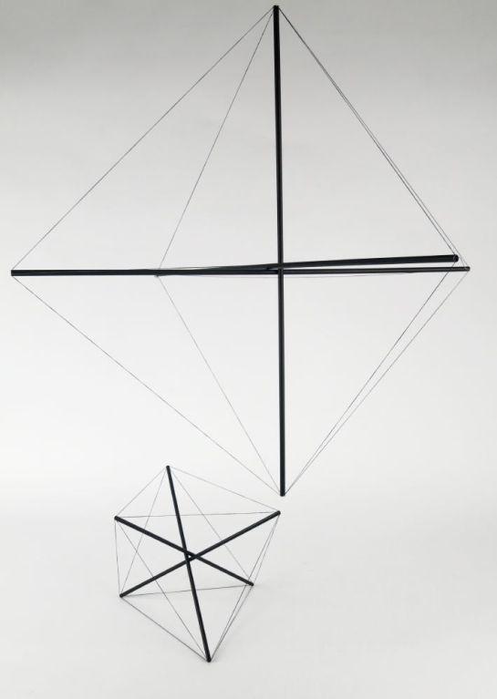 Tensostrutture Sculpture by Bruno Munari