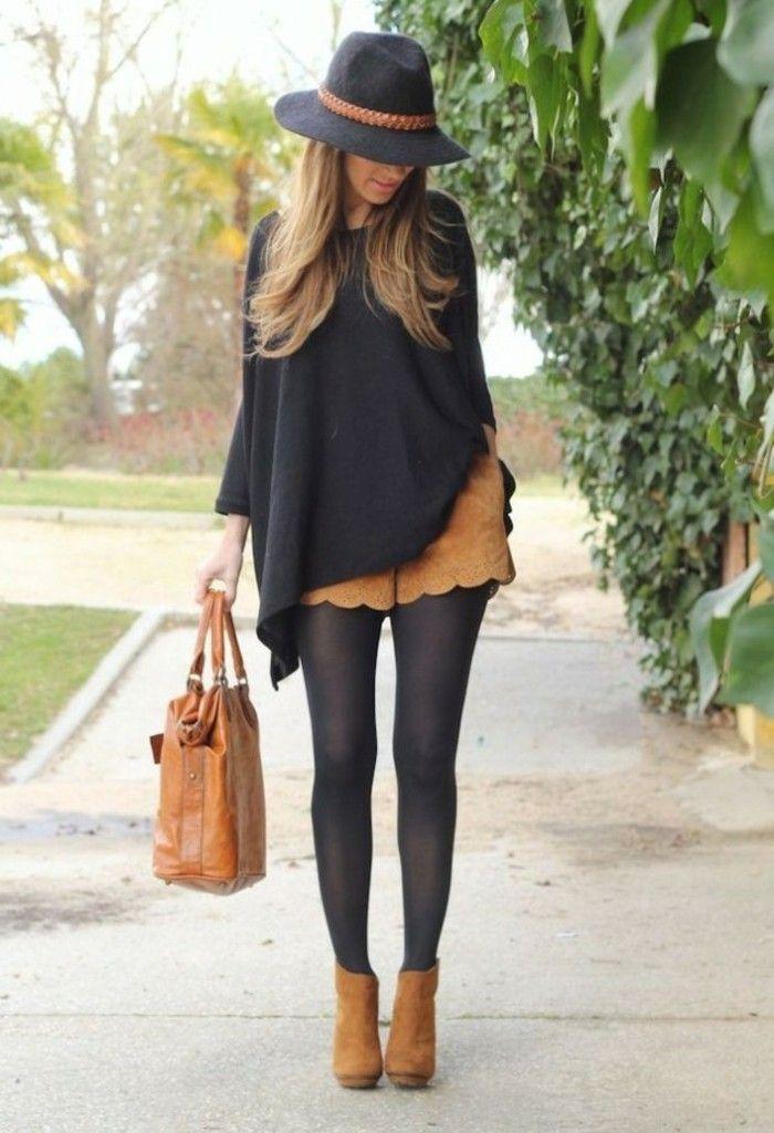 Talons compensés noirs chaussures femme spartoo