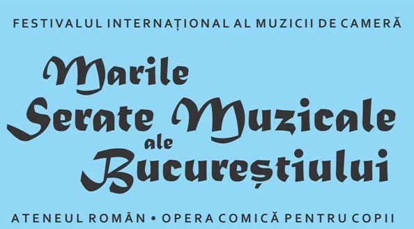 Marile Serate Muzicale ale Bucureștiului - pe scena Ateneului Român, între 7 și 9 iulie 2017.