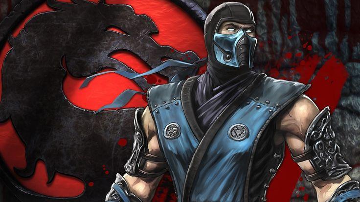 Charming Mortal Kombat Fighter Fan Art Dragon Mask Wallpaper « Kuff Games