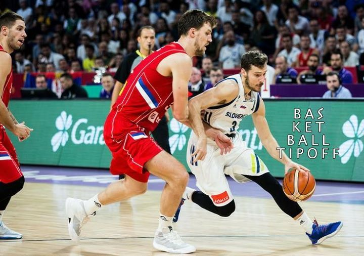 SLOVENIA DEFEATS SERBIA AND BECOMES THE EUROBASKET CHAMPION!!!!!  93-85 for Slovenia what an amazing game.  Goran Dragic of the Miami Heat scores 35 points for the win.  As a Slovenian I have no words left tears of joy are everything left for me.  History made for Slovenia.  KDOR NE SKAČE NI SLOVENC!  #MISLOVENCI  -AJHEAT