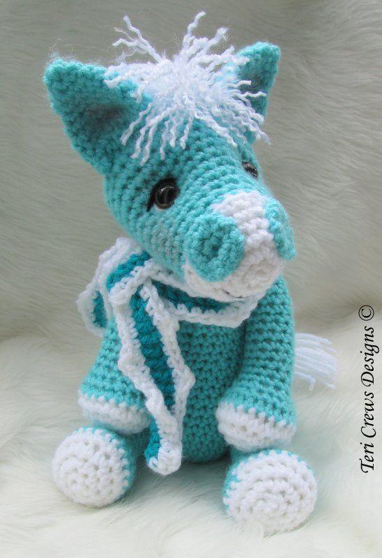 Fancy Goldfish Amigurumi By Kate Wood : Cute Horse Crochet Pattern by Teri Crews Crocheting ...