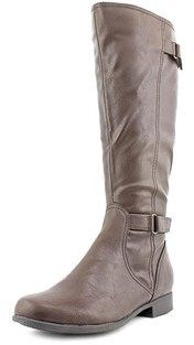 Hush Puppies Motive_16bt Round Toe Synthetic Knee High Boot.
