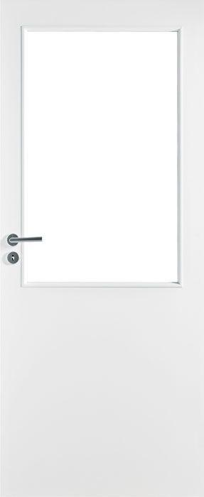 Дверь белая гладкая под стекло: Белые гладкие двери EASY: Финские межкомнатные двери: АТОЛЛ:: Межкомнатные двери, напольные покрытия, дверные замки, доводчики, ламинированные полы (ламинат PERGO) в Петербурге