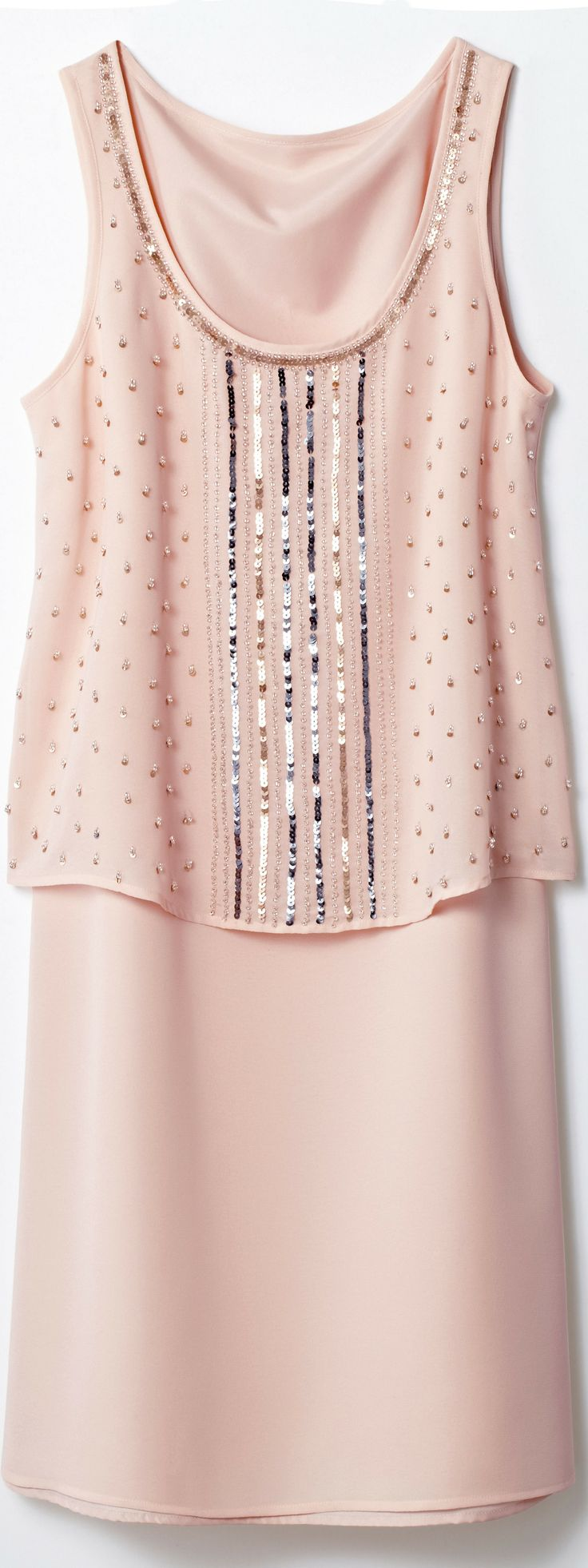 """You can wear this blingy dress from La Redoute for smart casual. """"What is Smart Casual for Women on Cruises?"""" - (article) - http://boomerinas.com/2014/01/31/what-is-smart-casual-for-women-on-cruises/"""