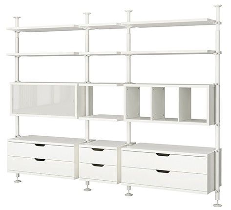 Ikea-Stolmen-large-shelf-unit - need one of these for the CGL Free Library plus tchotchkes and board games...