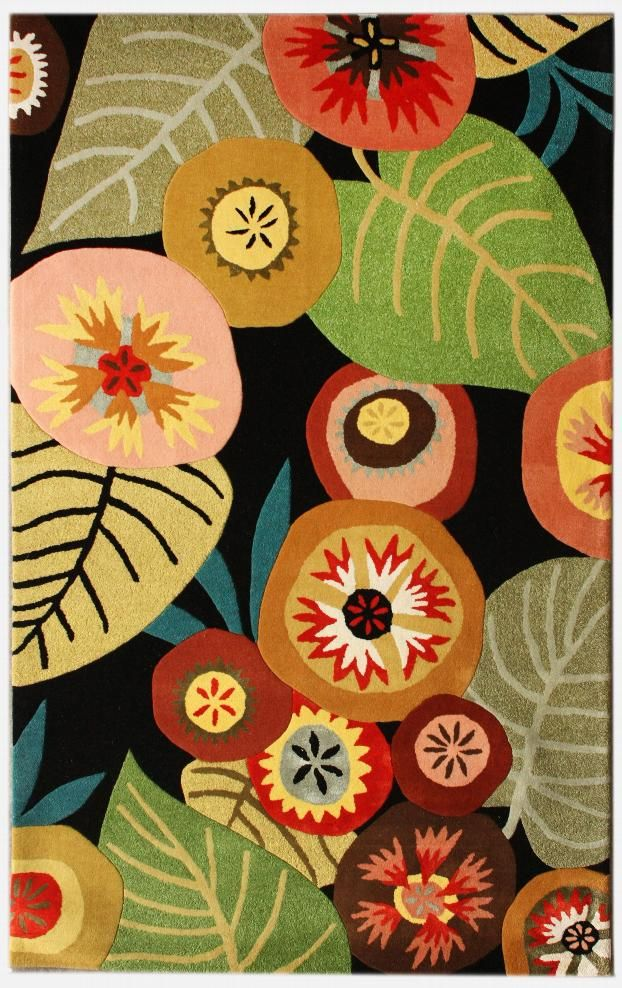 Green House Rug designed for Rugs USA by Brie Harrison