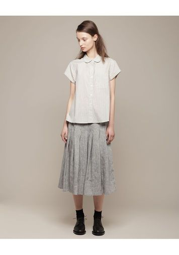 MHL by Margaret Howell | Round Collar Shirt | La Garçonne