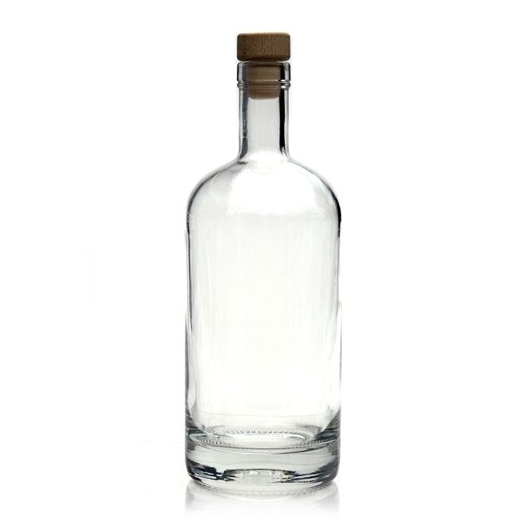 "Glass bottle from the series ""Linea Uno"" at a very extraordinary price!"