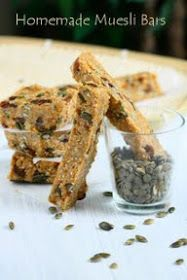 Angie's Recipes . Taste Of Home: Homemade Muesli Bars