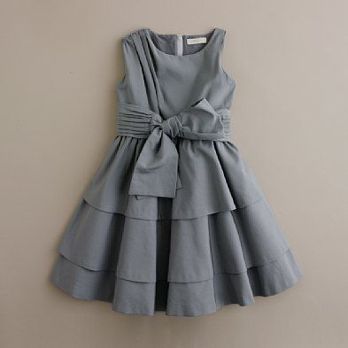Girl's Romy dress. I think you just pleat the shoulder to get that look! So pretty!