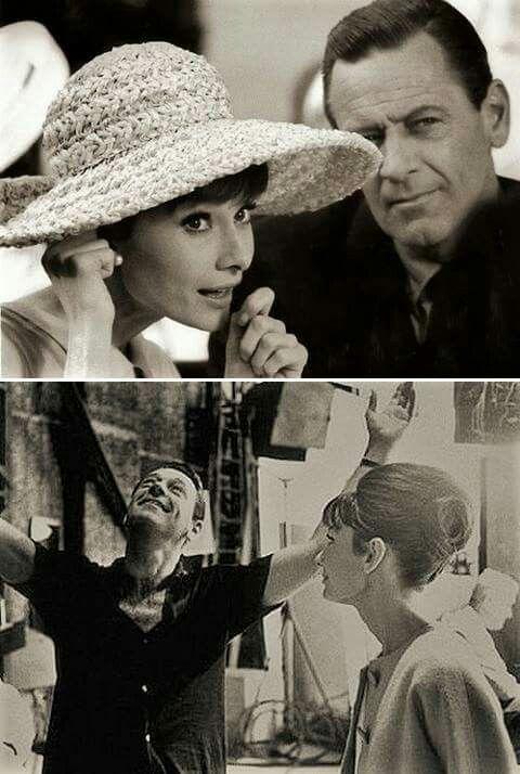 Audrey Hepburn and William Holden