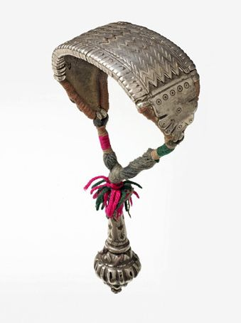India | Silver bracelet with counterweight from Rajasthan