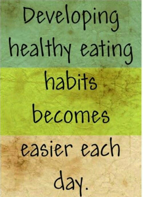 healthy eating habits for everyday living All humans have to eat food for growth and maintenance of a healthy body,   snacks such a pattern may become a lifelong habit for people  try to find the  things in your daily life that you often do while.