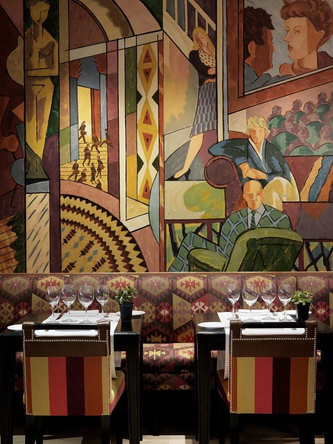 17 best images about wall paintings on pinterest painted for Best boutique hotels london