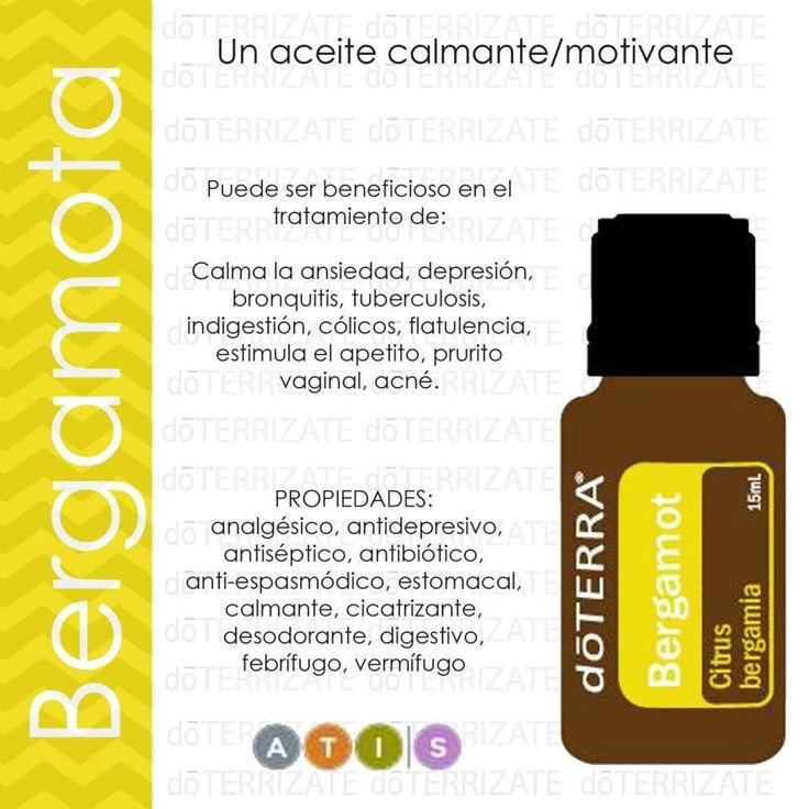 Pruebe el agradable aroma del aceite esencial de Bergamota y aprovecha todas sus propiedades!