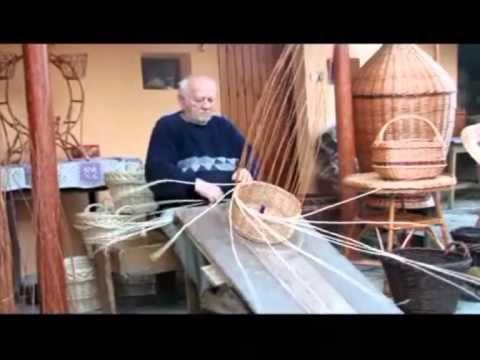 Kosárfonás: fonott kosár készítése kézzel, fűzvesszőből 1.