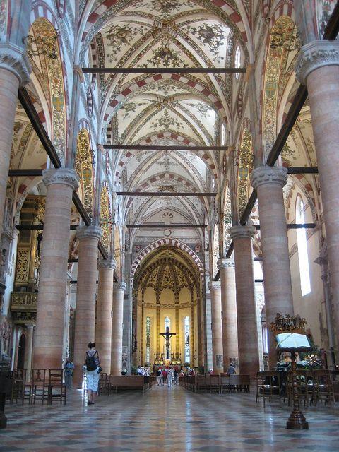 | ♕ | Sant'Anastasia - Verona, Italy | by © spencer97m