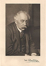 William Bateson (1861-1926), geneticist who, together with Reginald Punnett, discovered genetic linkage.