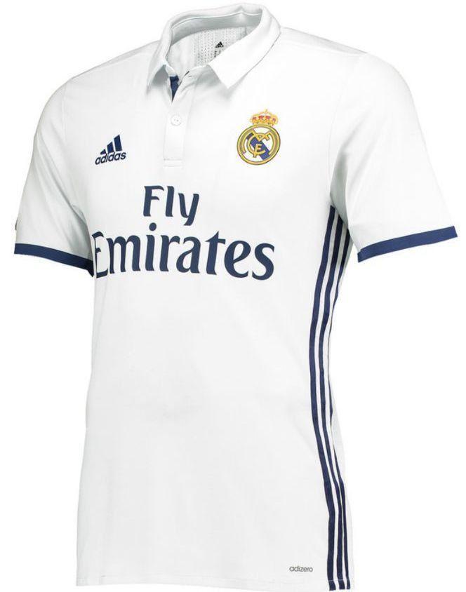 ... Adidas real madrid authentic adizero home match jersey 201617 bbecf7614