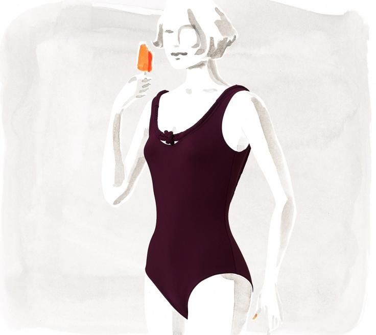 Hermès Ancre Swimsuit
