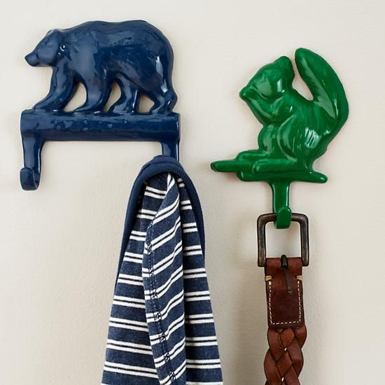 Nature Trail Wall Hooks   The Land of Nod