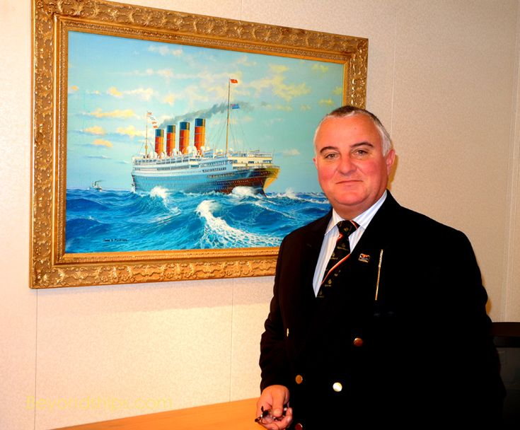Entertainment Director Paul O'Loughlin and Hotel Manager David Hamilton talk about Cunard's Queen Victoria http://www.beyondships2.com/cunard-queen-victoria-comes-of-age.html