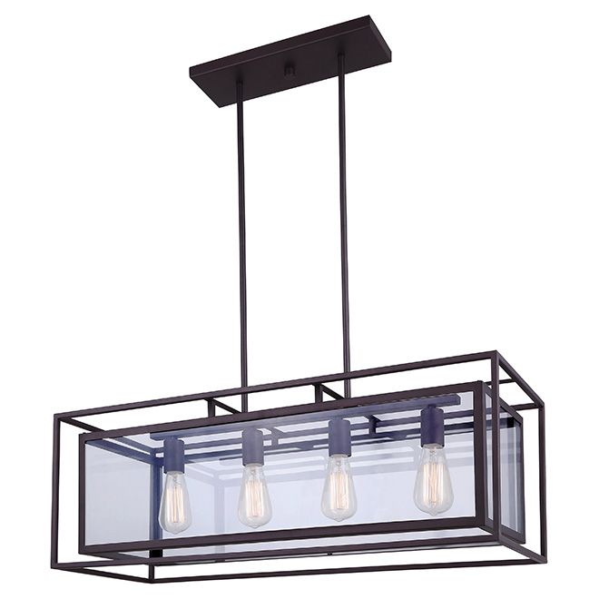 Suspension for dinning room, has single matching ones from Rona.