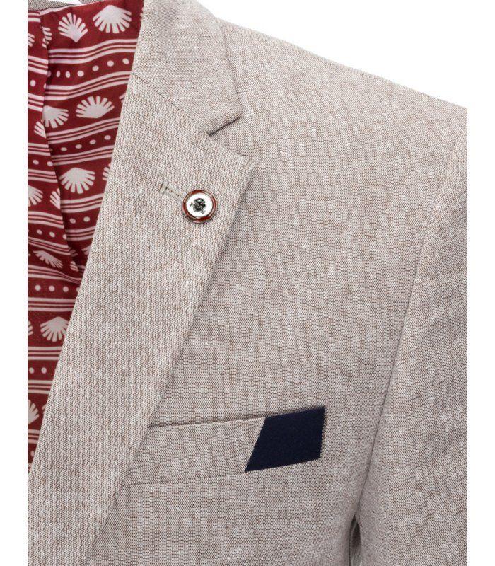 Pánske béžové elegantné sako