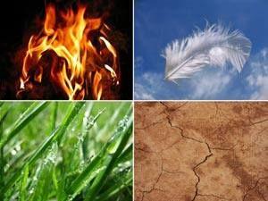 Luft, Feuer, Wiese, Erde... Urne Bestattung