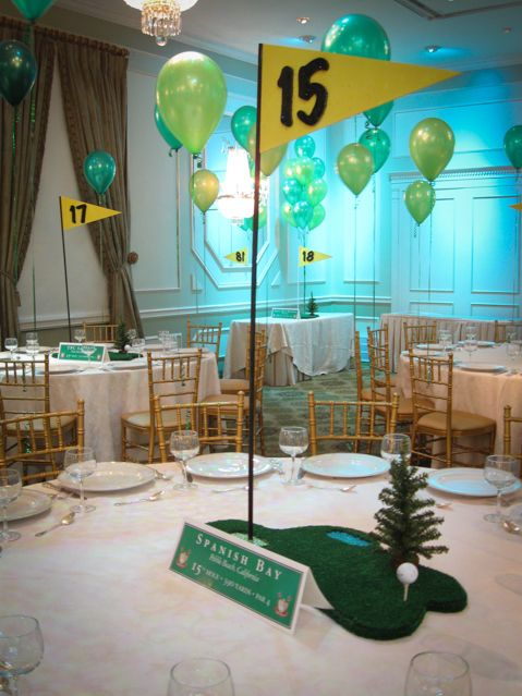 95 best sports themed centerpieces images on pinterest for Balloon decoration course