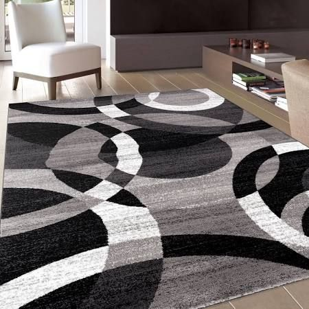 black and grey rug - Google Search